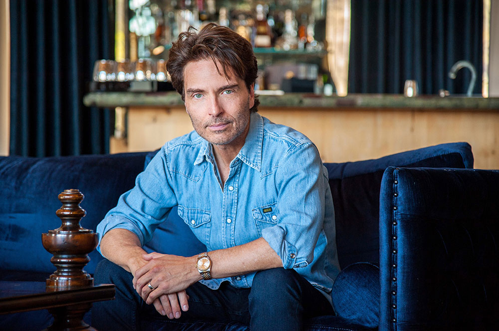 """""""Off the Cuff"""" Podcast on Hollywood Reporter - Richard Marx"""
