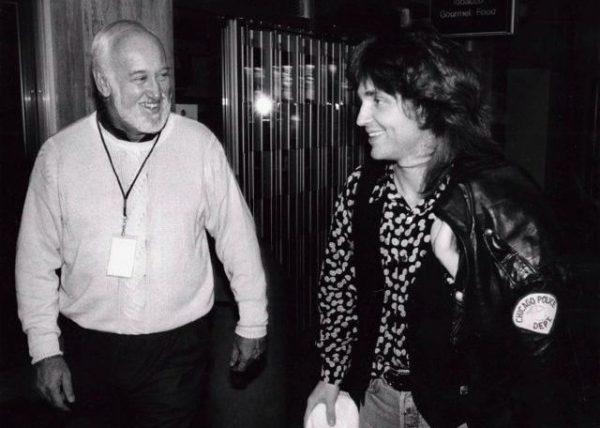 Bruce Lundvall and Richard Marx 1991