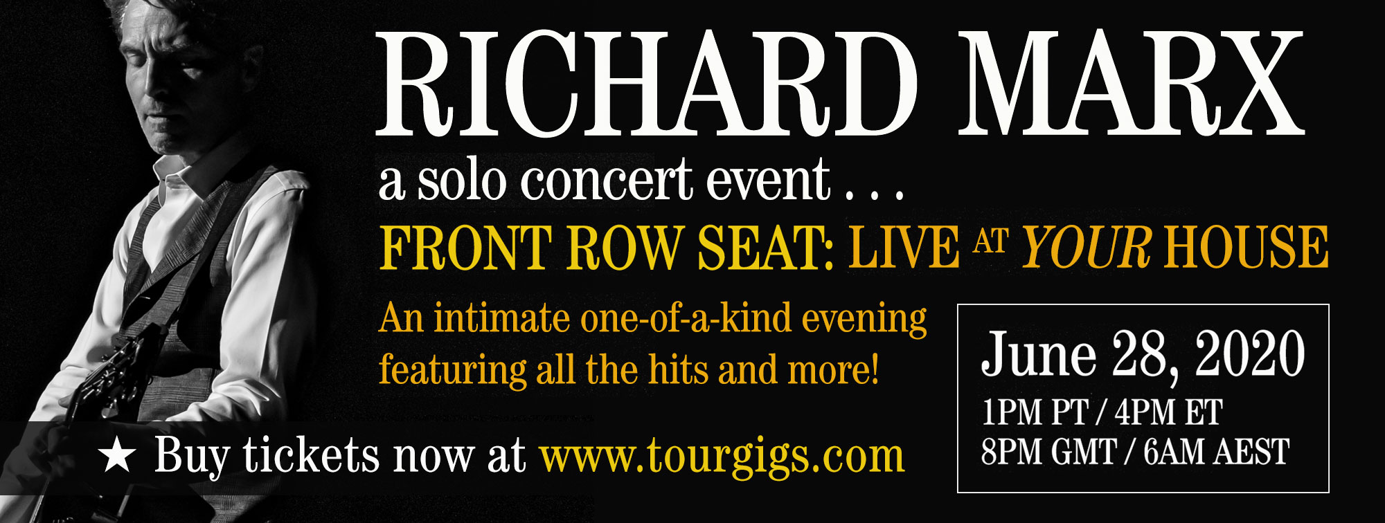 Richard Marx - Solo Concert Event